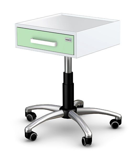 Multi-function trolley / with drawer / modular / height-adjustable K-5 series A type TECHMED Sp. z o.o.