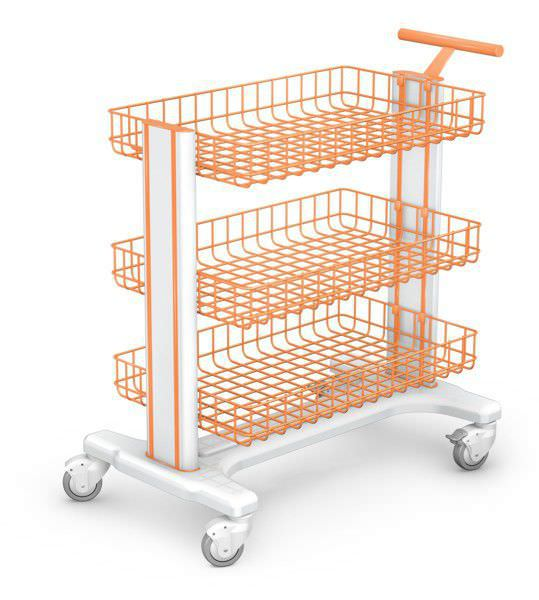 Multi-function trolley / instrument MB-3 series H-11 type new image TECHMED Sp. z o.o.