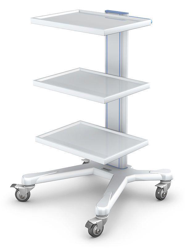 Medical equipment trolley APAR series APAR-1 type TECHMED Sp. z o.o.
