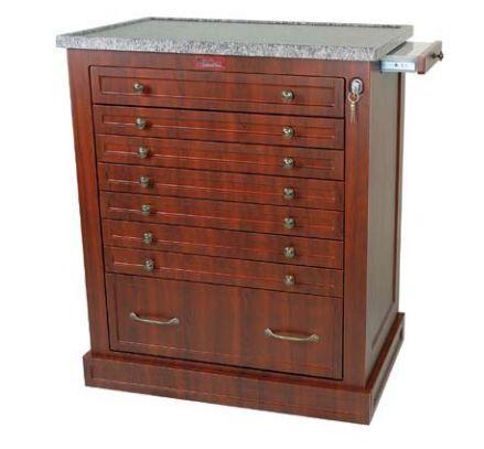 Medical cabinet / medicine / with drawer WL294BOX Harloff