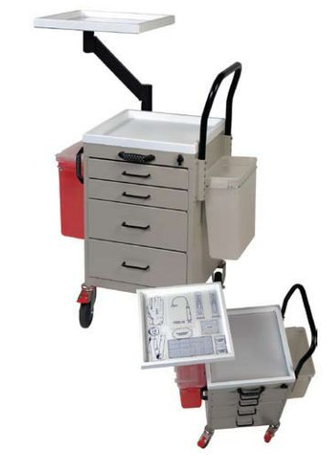 Intravenous procedure trolley / treatment / with drawer 3123 Harloff