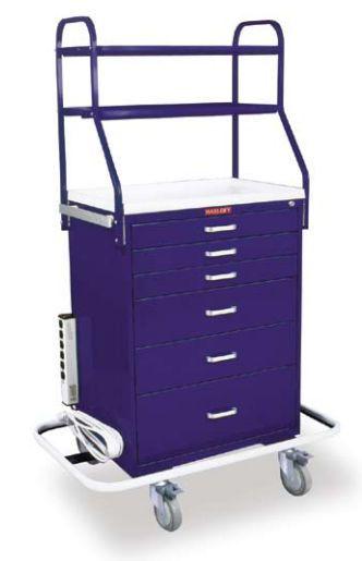 Anesthesia trolley / with shelf unit 6650 Harloff