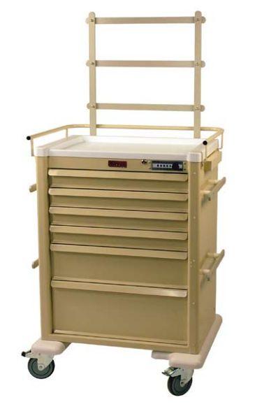 Anesthesia trolley / with shelf unit AL809M6-ANS Harloff