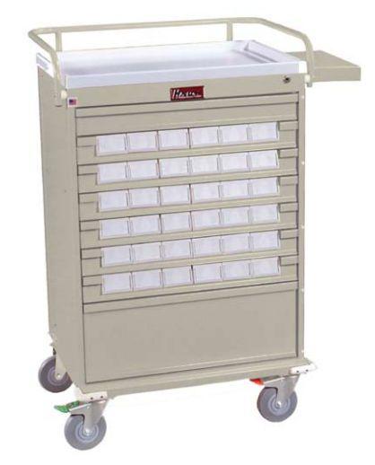 Medicine distribution trolley / 35 to 44 container VLT36BIN3 Harloff