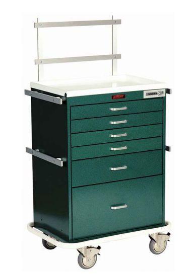 Anesthesia trolley / with shelf unit 7451 Harloff