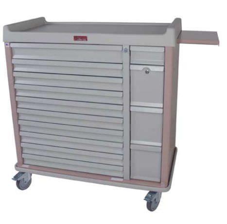 Medicine distribution trolley / with drawer SL420BOX Harloff