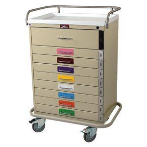 Emergency trolley / pediatric 6400PEC Harloff
