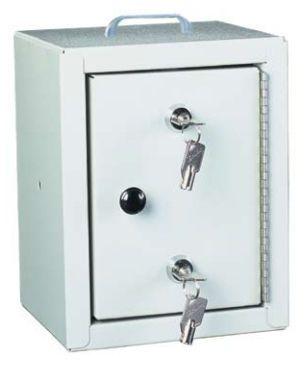 Safety cabinet / medicine / with double lock / 1-door 2710 Harloff