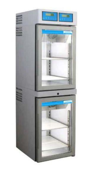 Pharmacy refrigerator / cabinet / 2-door TC 108-2 tritec
