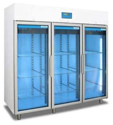 Pharmacy refrigerator / cabinet / 3-door TC 107 tritec