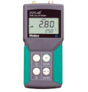 Laboratory pH meter / portable / with thermometer 610310001 Windaus Labortechnik