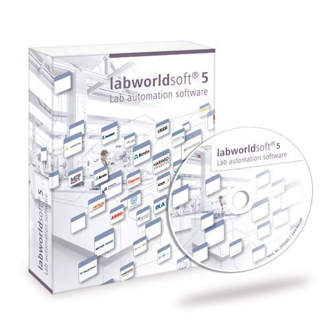 Data management software / analysis / medical / laboratory labworldsoft® IKA