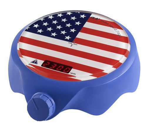 Magnetic stirrer / digital / compact 0 - 2500 rpm | color squid Stars and Stripes IKA