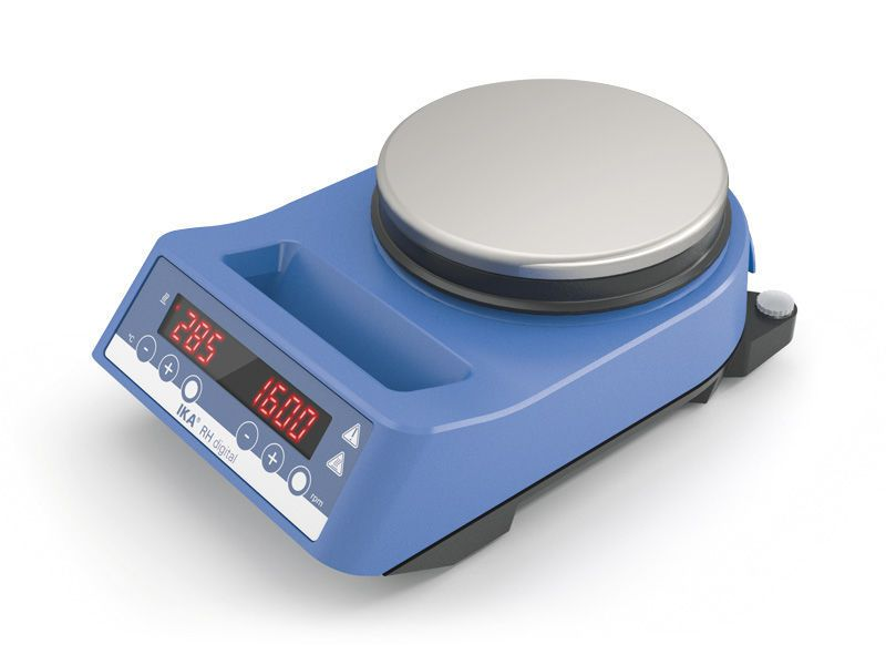 Bench-top shaker / digital / hotplate / magnetic 100 - 2000 rpm, 50 °C ... 320 °C | RH digital IKA