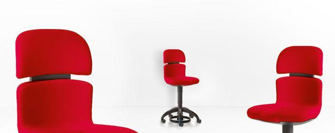 Dental stool / with backrest HUGO Sirona Dental Systems