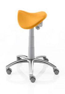 Dental stool / on casters / saddle seat Estro S/L VITALI S.R.L.