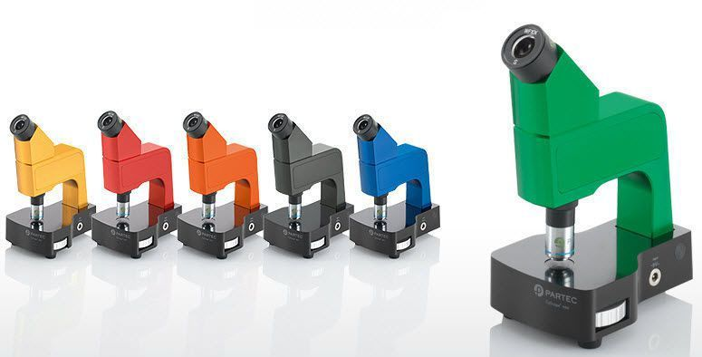 Laboratory microscope / optical / fluorescence / monocular CyScope® mini Sysmex Partec GmbH
