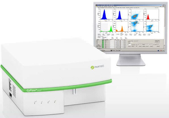 Flow cytometer / ultra-compact / bench-top CyFlow® Space Sysmex Partec GmbH