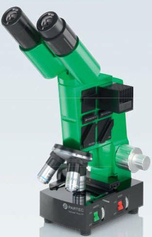 Laboratory microscope / optical / fluorescence / binocular CyScope® HP Sysmex Partec GmbH