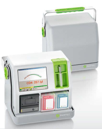 CD4 cytometer / flow / portable / bench-top CyFlow® miniPOC Sysmex Partec GmbH