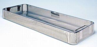 Perforated sterilization basket 480 x 240 mm | 74 - 74/4 C.B.M.