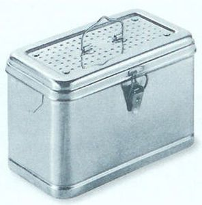 Perforated sterilization container 200 - 590 mm | 52 - 60 C.B.M.