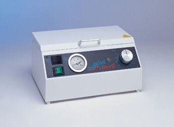 Medical sterilizer / hot air / bench-top / automatic 150 mm | 427 C.B.M.