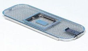 Lid for sterilization basket / perforated 280 x 110 mm | 76LID C.B.M.