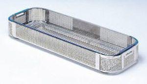 Perforated sterilization basket 280 x 110 mm | 76 - 76/1 C.B.M.
