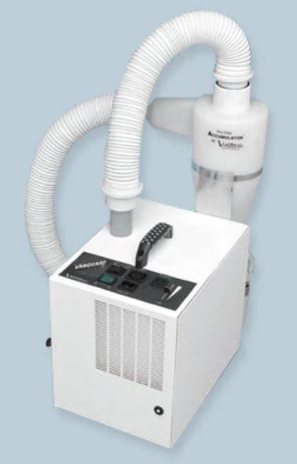 Dental laboratory dust suction unit / 1-workstation Vanguard Gold 2X - 10321 Vaniman
