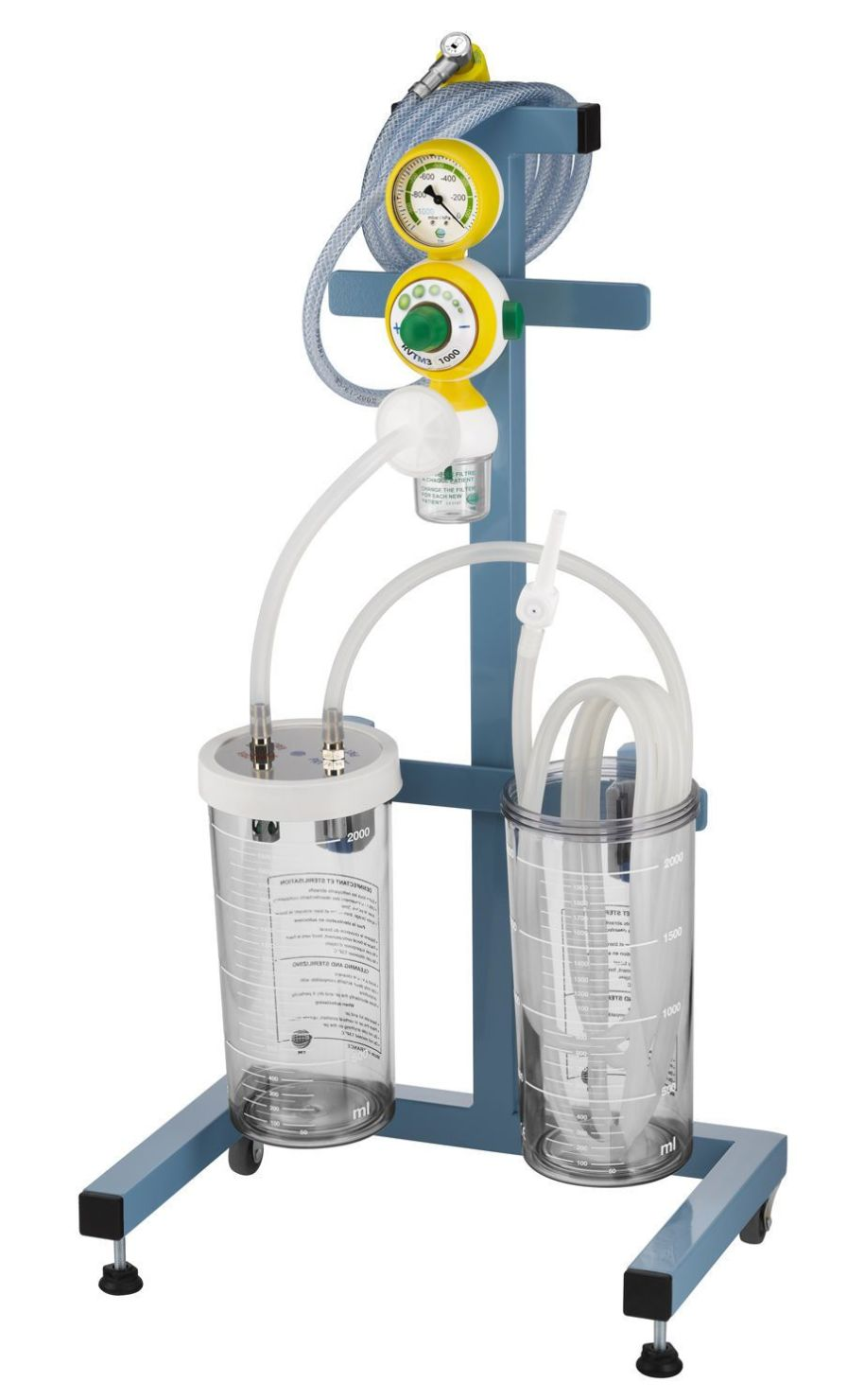 Surgical suction pump / on casters / vacuum-powered 1947x series Technologie Medicale