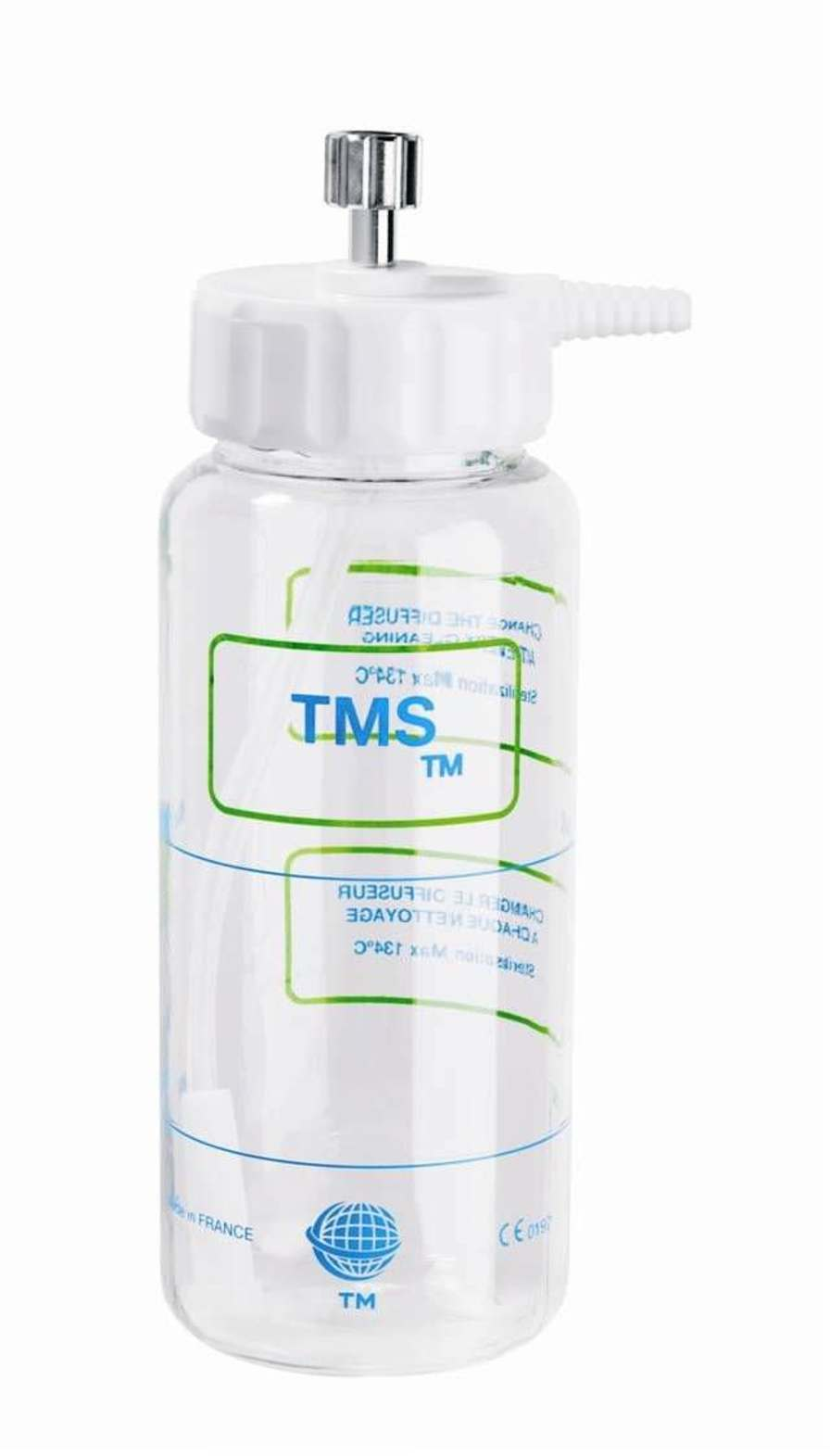 Bubble humidifier 500 mL | TMS Technologie Medicale