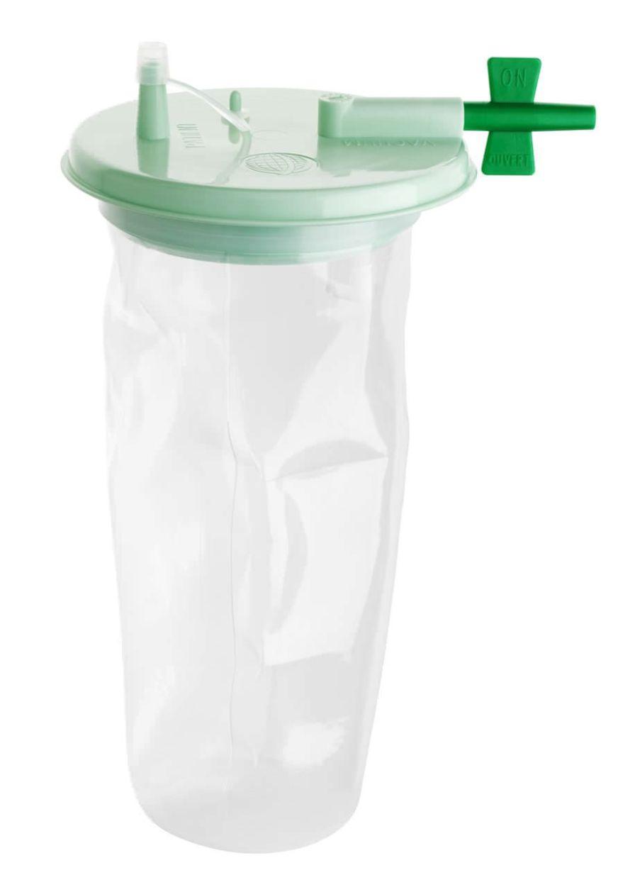 Medical suction pump jar / suction polysulfonate / polycarbonate 1 L Technologie Medicale