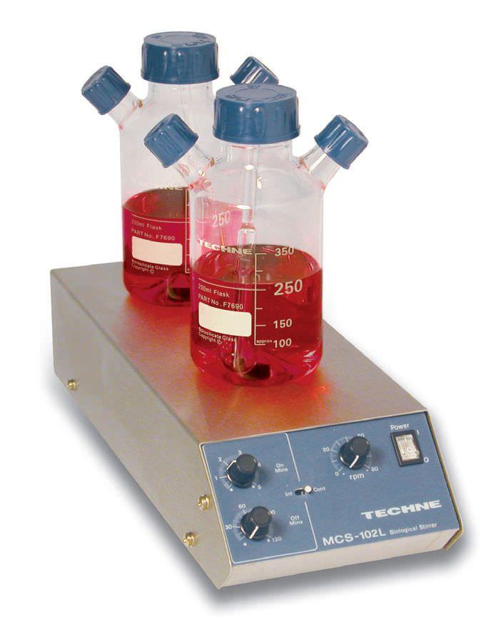 Magnetic stirrer / analog / multi-position 0 - 80 rpm   MCS-102L Techne