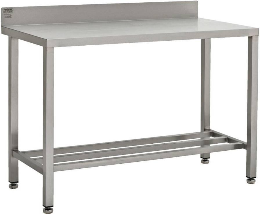 Work table / rectangular / stainless steel W/TSSB TEKNOMEK