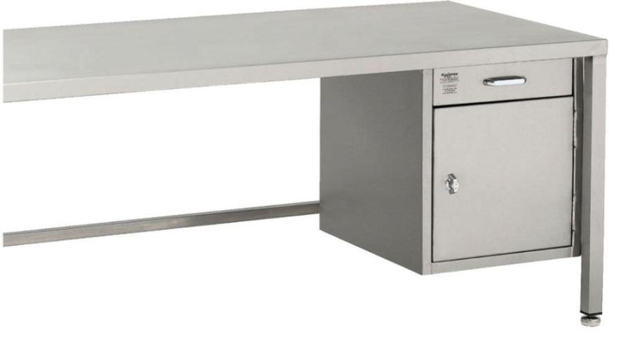 Healthcare facility desk / 1-drawer / 1-door TCA0600 TEKNOMEK