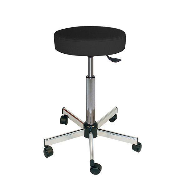 Medical stool / rotating / height-adjustable / on casters W/WW1710/C TEKNOMEK