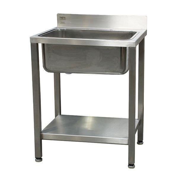 Stainless steel sink / 1-station W/SSE TEKNOMEK