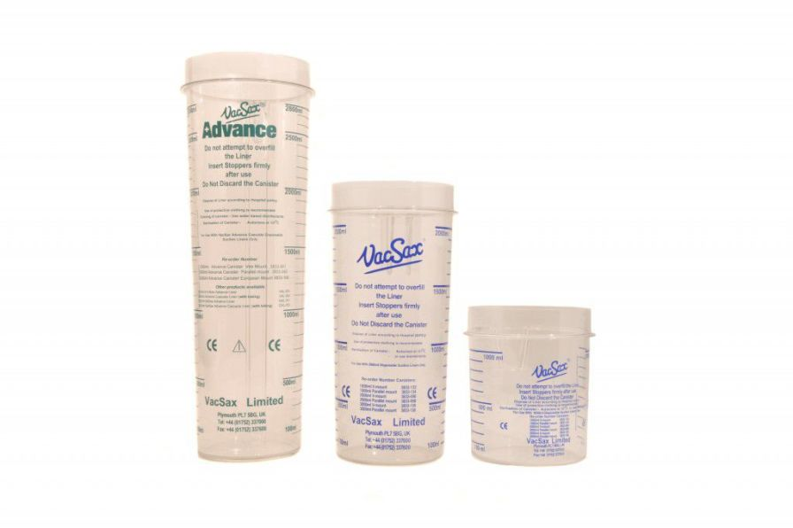 Sample container 1 L - 3 L | Canisters Vacsax