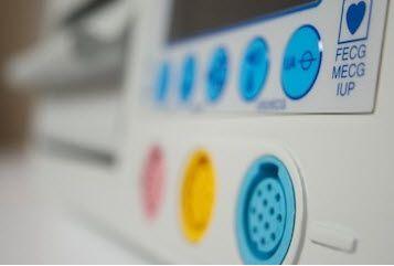 Twin fetal monitor Fetatrack®360 Ultrasound Technologies