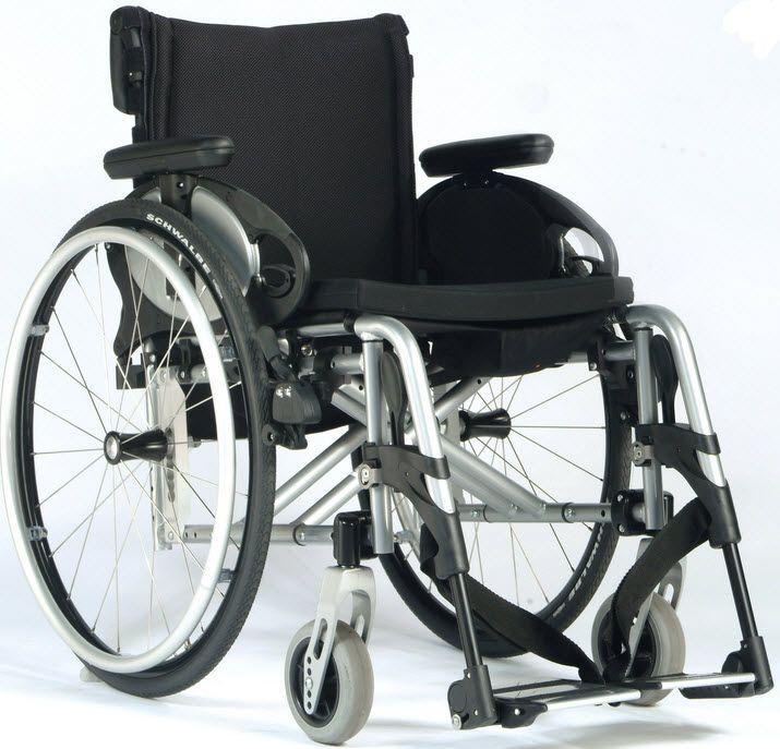 Passive wheelchair / folding Easy Max Swing Away Sunrise Medical