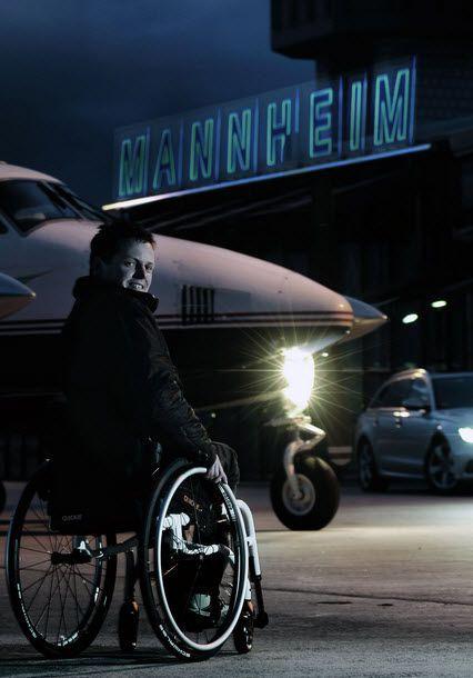 Active wheelchair / folding Xenon SA® Sunrise Medical