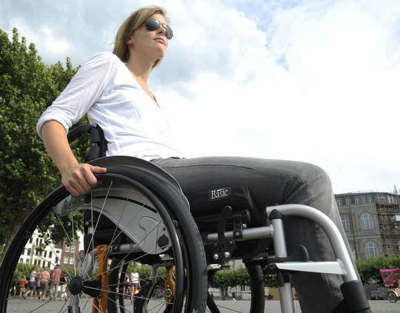 Active wheelchair / folding Life Sunrise Medical