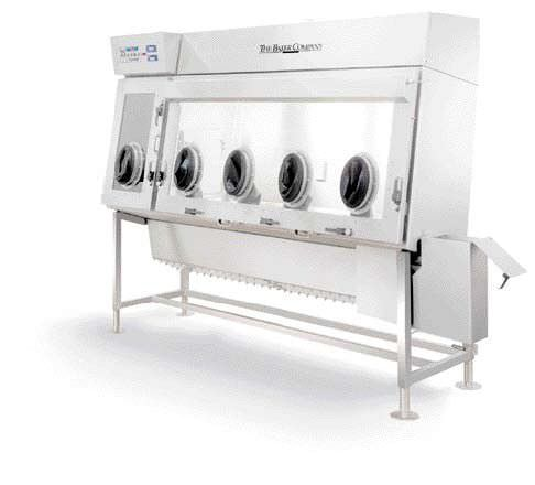 Class III isolator / glove box / containment / with HEPA filter IsoGARD® The Baker Company
