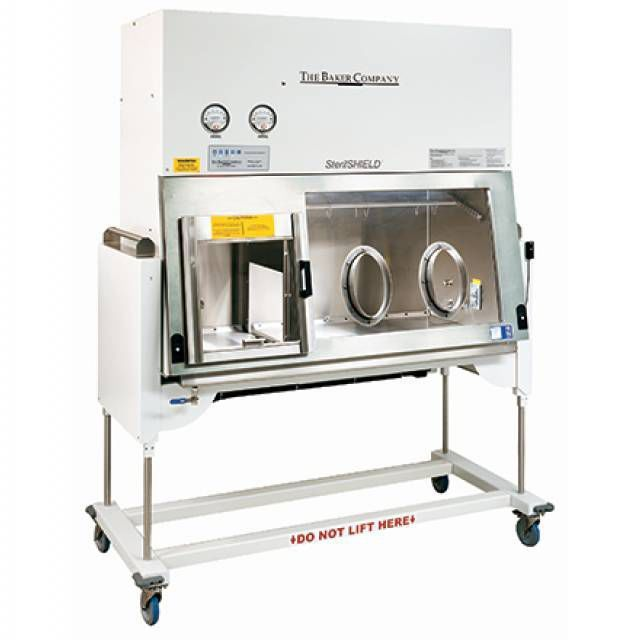 Class III isolator / glove box / aseptic / mobile SterilSHIELD® The Baker Company