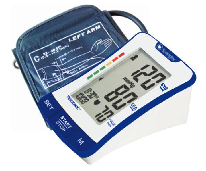 Automatic blood pressure monitor / electronic / arm Tensonic® Spengler SAS
