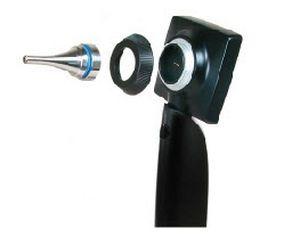 Otoscope video endoscope / rigid / with speculum / with integrated video monitor Otoscreen 2 Spengler SAS