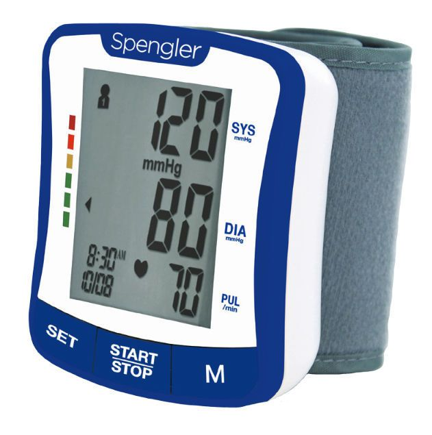 Automatic blood pressure monitor / electronic / wrist Tensonic® Spengler SAS