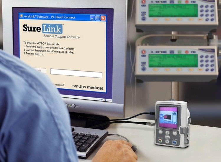 Software / infusion pump management SureLink™ Smiths Medical