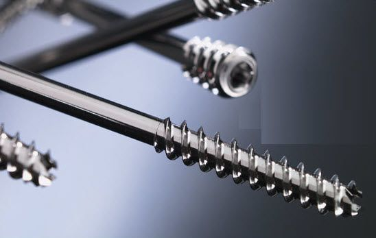Not absorbable compression bone screw ø 3.0 - 6.5 mm | NexFix™ Tornier